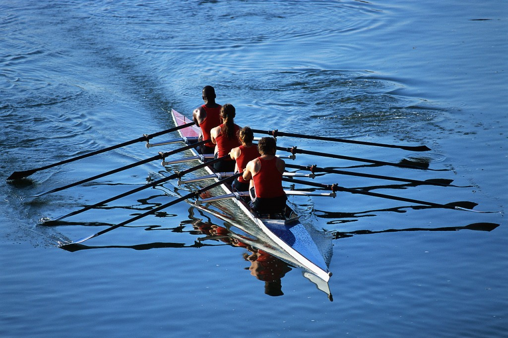 """If you could get all of the people in your organization rowing in the same direction, you could dominate any industry, any market against any competition."""