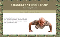 Consultant Boot Camp Screenshot