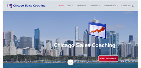 Chicago Sales Coaching screen